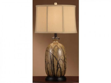 """Picture of 29.25"""" CERAMIC TABLE LAMP"""