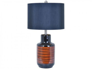 """Picture of 27.5"""" CERAMIC TABLE LAMP"""