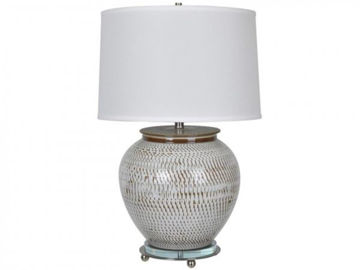 """Picture of 29"""" CERAMIC TABLE LAMP"""