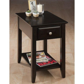 Picture of ESPRESSO CHAIRSIDE TABLE
