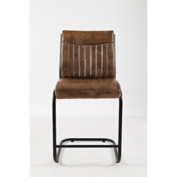 Picture of AVIATOR GENUINE LEATHER STOOL