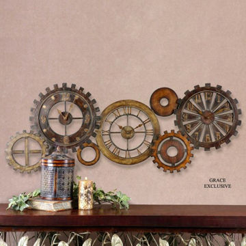 Picture of SPARE PARTS CLOCK