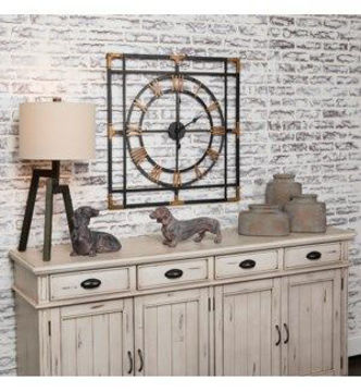 Picture of DECORATIVE METAL WALL CLOCK