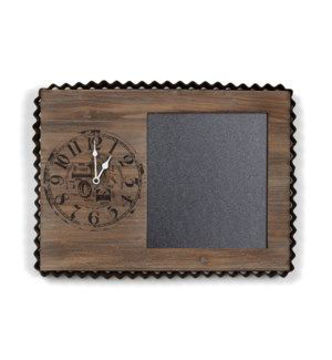 Picture of DECORITIVE WALL CLOCK/BLACKBOARD