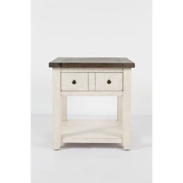 Picture of MADISON COUNTY END TABLE W/DRAWER-SHELF