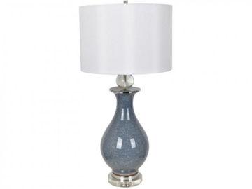 "Picture of 32""H CERAMIC/CRYSTAL LAMP"