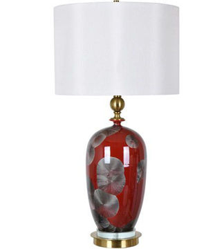"""Picture of 31.5""""H CERAMIC TABLE LAMP"""