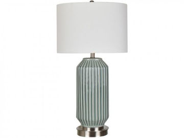 """Picture of 32"""" CERAMIC TABLE LAMP"""