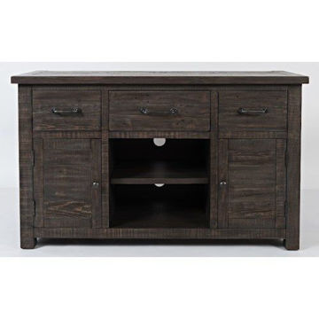 "Picture of MADISON COUNTY 50"" 3-DRAWER CONSOLE"