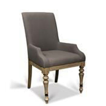 Picture of CORINNE UPHOLSTERED ARM CHAIR
