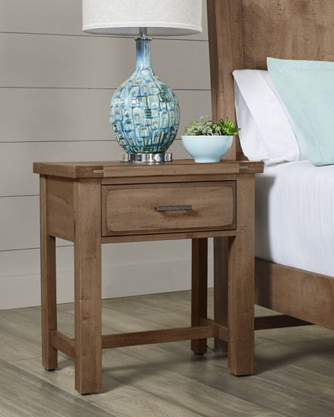 Picture of CHESTNUT CREEK 1 DRAWER NIGHT TABLE