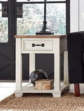 Picture of COTTAGE RECTANGULAR END TABLE