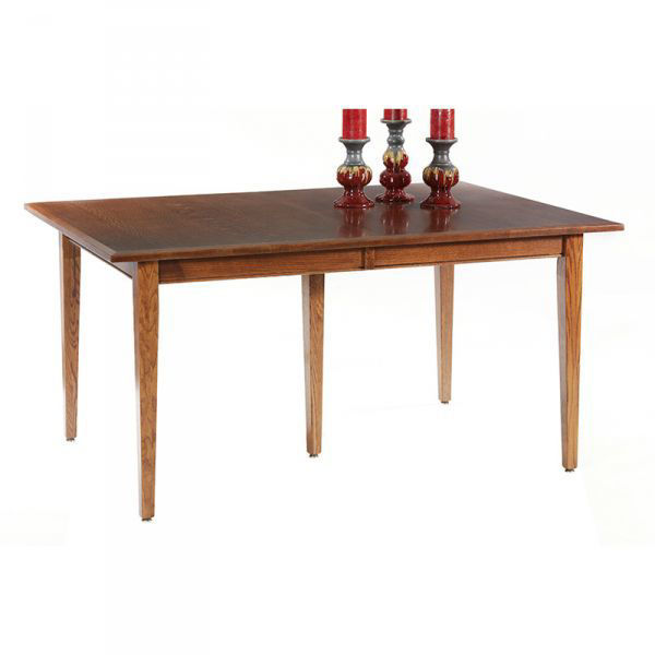 """Picture of SHAKER LEG TABLE W/2-12"""" LEAVES"""