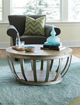 """Picture of MODERN THEORY 38"""" ROUND COCKTAIL TABLE"""