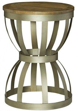 Picture of MODERN THEORY ROUND END TABLE