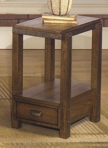 Picture of RUSTIC CHAIRSIDE END
