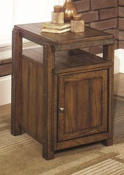 Picture of RUSTIC CHAIRSIDE CABINET