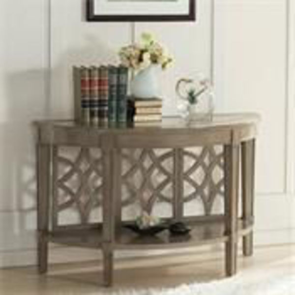 Picture of DEMILUNE SOFA TABLE