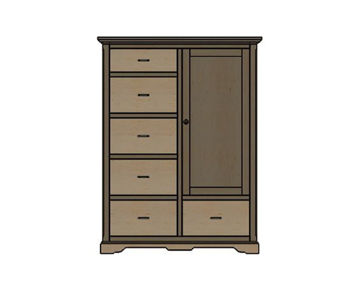 Picture of LONGMEADOW CHIFFEROBE 1