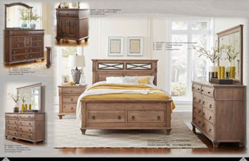 "Picture of REMINISCE QUEEN 25"" STORAGE FOOTBOARD"