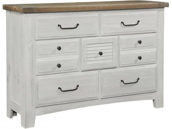 Picture of SAWMILL 7 DRAWER DRESSER