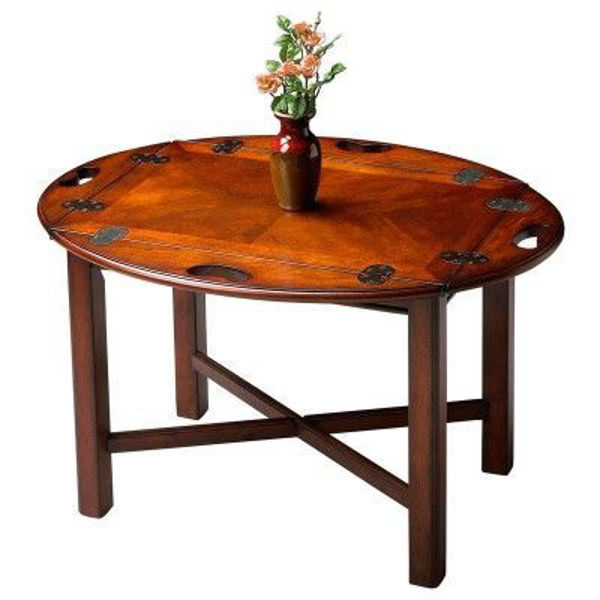 Picture of PLANTATION CHERRY BUTLER TABLE