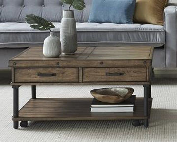 Picture of INDUSTRIAL RECTANGLE COCKTAIL TABLE