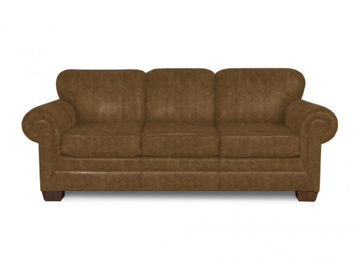 Picture of MONROE LEATHER SOFA