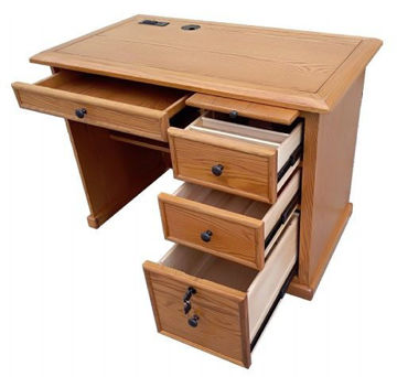 "Picture of QUINTON 42"" FLAT TOP DESK"