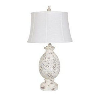 """Picture of 30.5"""" PINEAPPLE TABLE LAMP"""