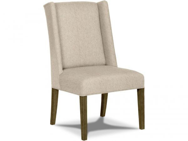 Picture of CONTEMPORARY WINGED SIDE CHAIR-SELL AS PAIR