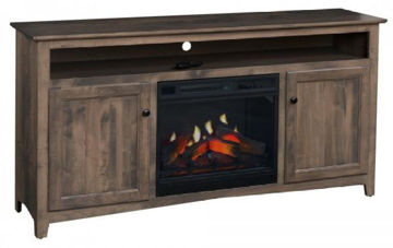 "Picture of 65"" LINWOOD TV CONSOLE W/FIRE"