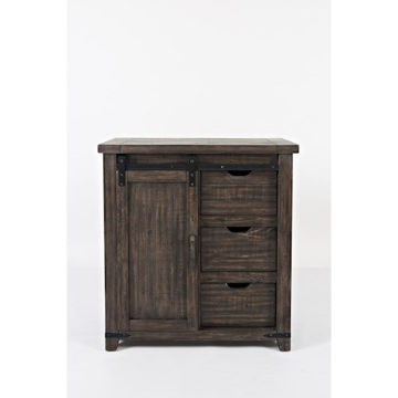 """Picture of MADISON COUNTY 32"""" BARNDOOR ACCENT CHEST"""