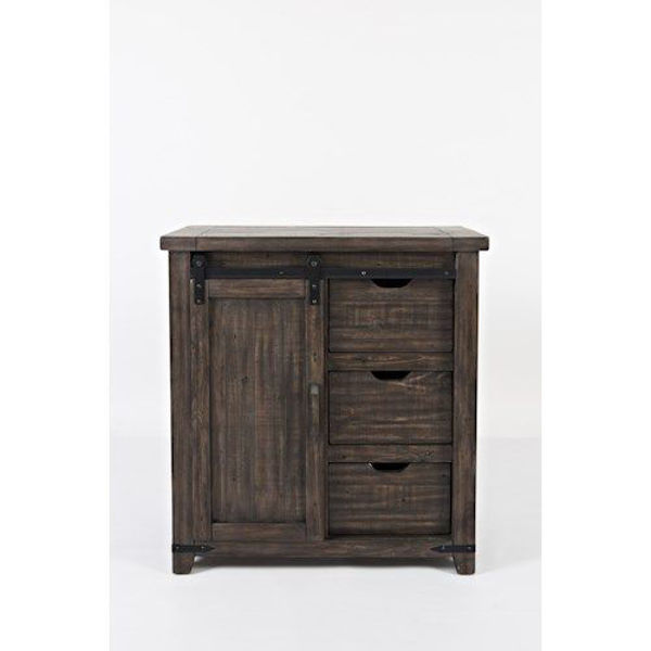 "Picture of MADISON COUNTY 32"" BARNDOOR ACCENT CHEST"