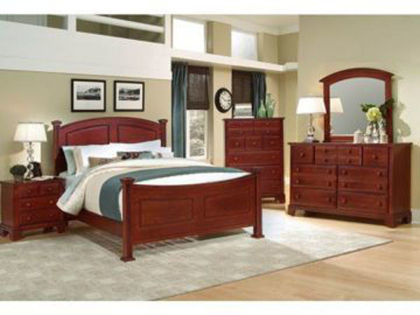 Picture of QUEEN COMPLETE BED