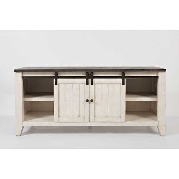 "Picture of MADISON COUNTY 70"" BARN DOOR CONSOLE"