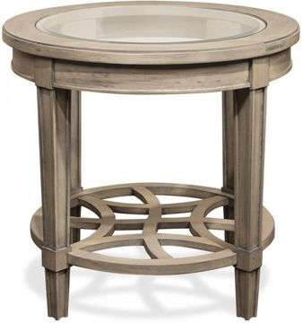Picture of PARKDALE ROUND END TABLE