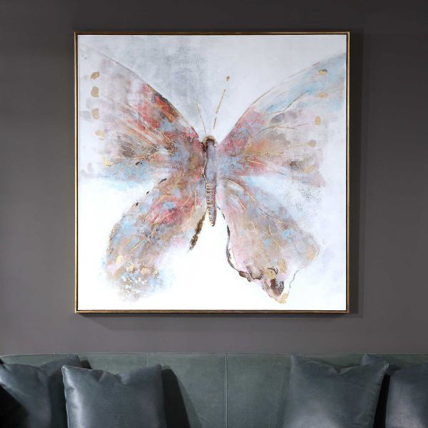 Picture of FREE FLYING HANDPAINTED CANVAS