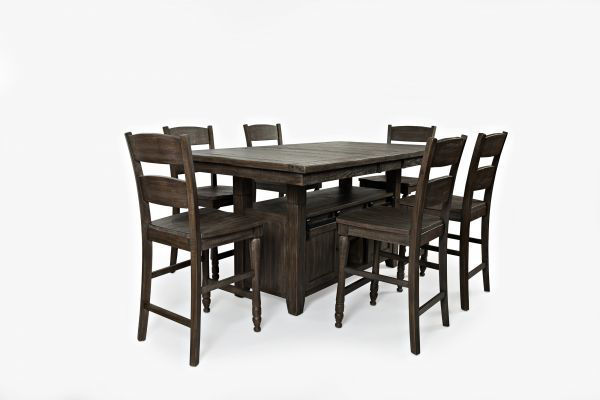 Picture of MADISON COUNTY HIGH/LOW DINING TABLE 5PC