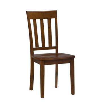 Picture of SIMPLICITY SLAT BACK SIDE CHAIR