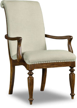 Picture of ARCHAVIST UPHOLSTERED ARM CHAIR