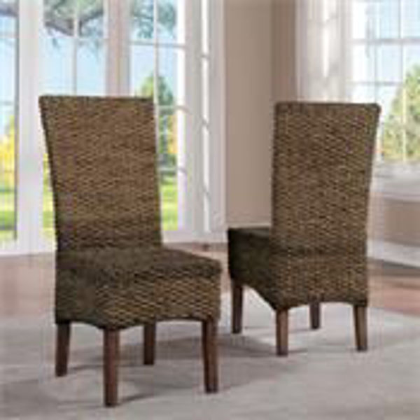 Picture of WOVEN SIDE CHAIR