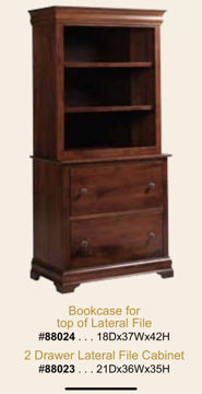 Picture of 2 DRAWER LATERAL FILE CABINET