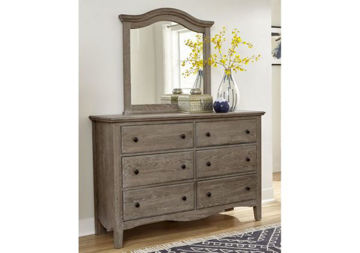 Picture of CASUAL RETREAT 6 DRAWER DRESSER