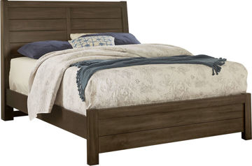 Picture of URBAN CROSSING CANTERBURY QUEEN SIZE PLANK HEADBOARD