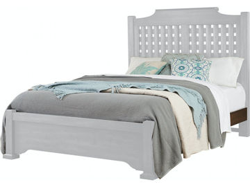 Picture of GRAYSON MANOR QUEEN SIZE WOOD BED RAILS