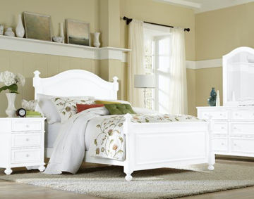 Picture of MADISON TWIN/FULL SIZE WOOD BED RAILS
