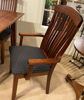 Picture of MG-492A UPHOLSTERED ARM CHAIR