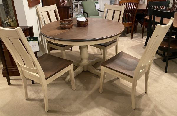 Picture of ES28 SINGLE PEDESTAL ROUND TABLE