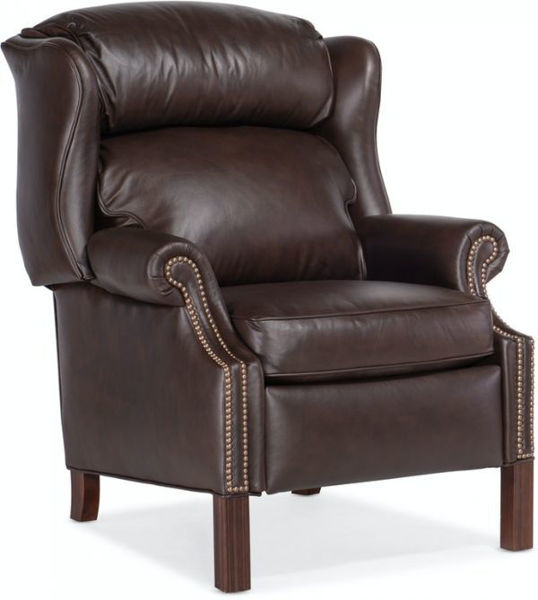 Picture of CHIPPENDALE RECLINING WING CHAIR